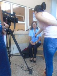 Entrevista concedida para el programa «Hoy» de «TV Yumurí»