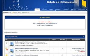 Foro Debate en el Ciberespacio