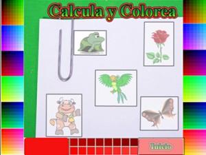 Calcula y Colorea