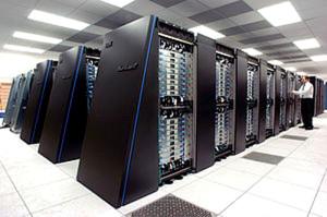 Figura 1. Supercomputadora paralela Blue Gene de IBM