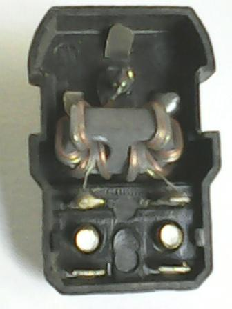 Fig. 2: Desoldar el inductor, del pin central