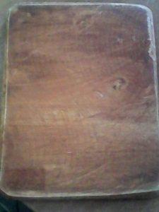 Fig. 1: Rectángulo de madera