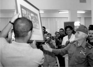 Figura 6. Mensaje de reconocimiento enviado por Fidel Castro a los Joven Club de Computación y Electrónica por sus dos décadas.