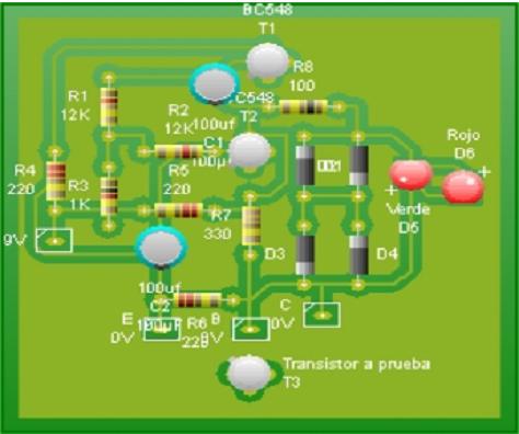 Probador de transistores