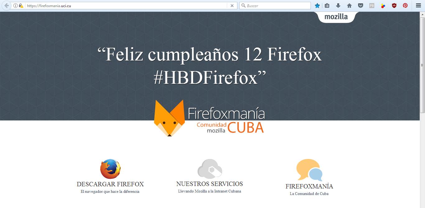 Firefoxmanía Instalaciones y complementos