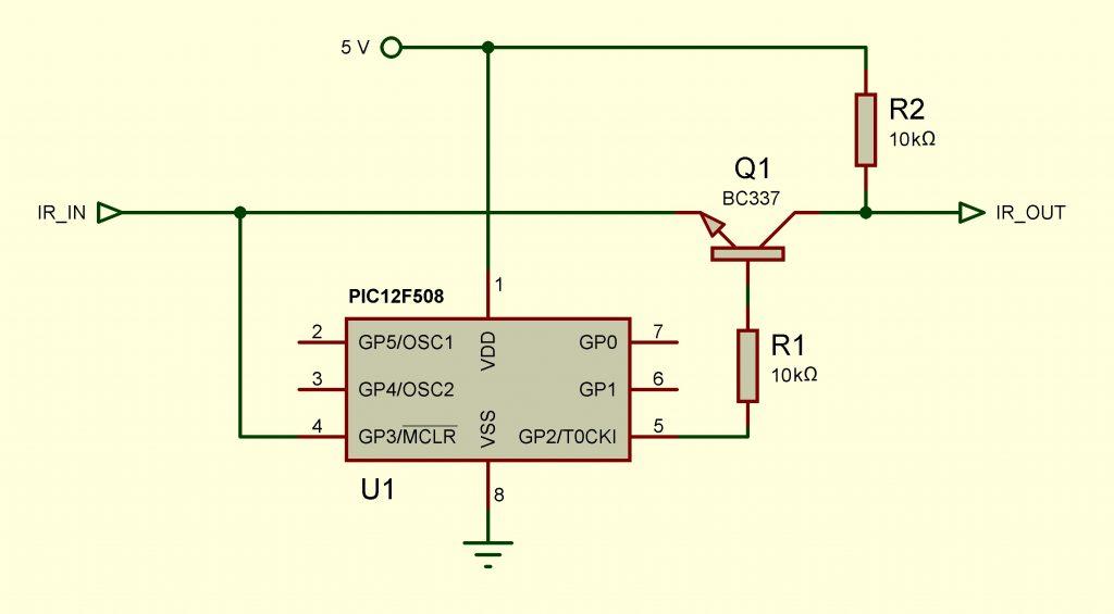 TV Haier. Figura 1: Diagrama esquemático del conmutador electrónico.