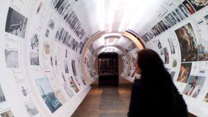 Túnel del tiempo. Museo