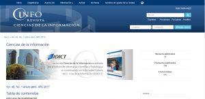 Revista Ciencias de la Información