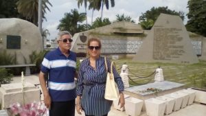 Visita a Cementerio Santa Ifigenia en Santiago de Cuba (ANCI)