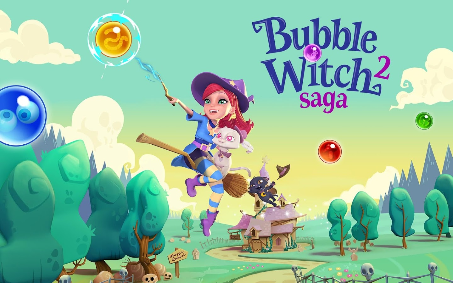 Figura 1. Bubble Witch Saga