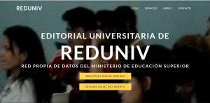 Sitios Web - Editorial Universitaria