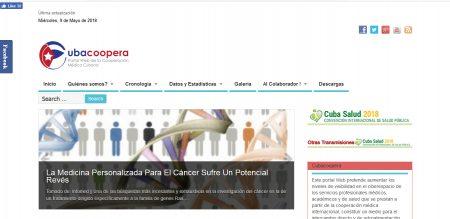 Sitio Web CubaCoopera