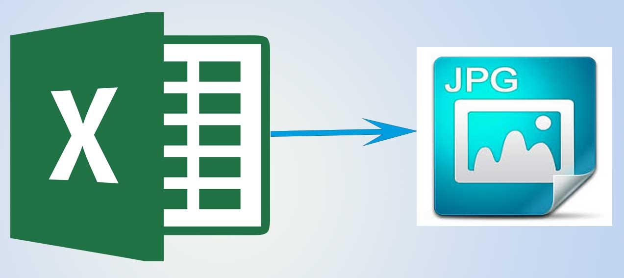 Microsoft Excel a JPG