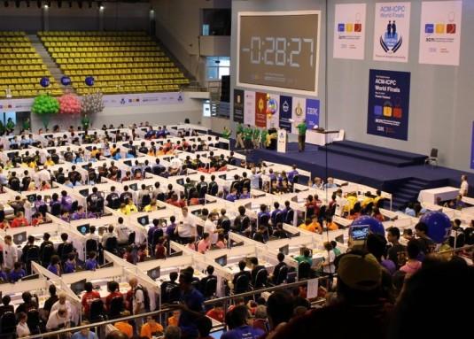 Competencia de programadores. ACM Final Thailand-2016