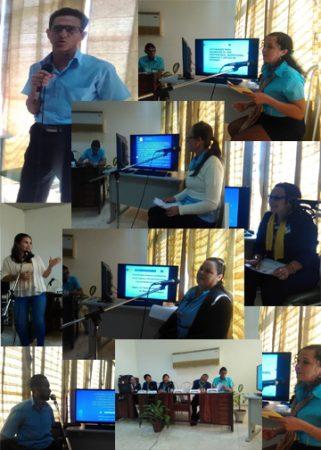 Fig. 1. Presentaciones de trabajos en el Evento Nacional de Calidad Enfocada al Cliente, ENCEC.