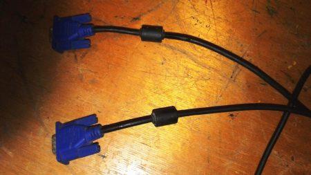 Figura 1. Selección de los cables VGA.