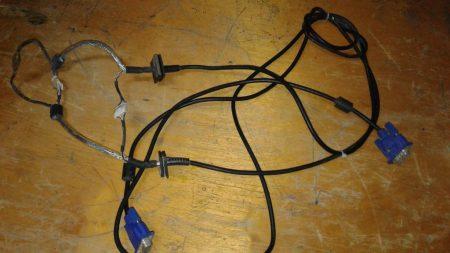 Creación de un cable VGA - VGA.