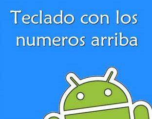 configurar Teclado numérico en Android
