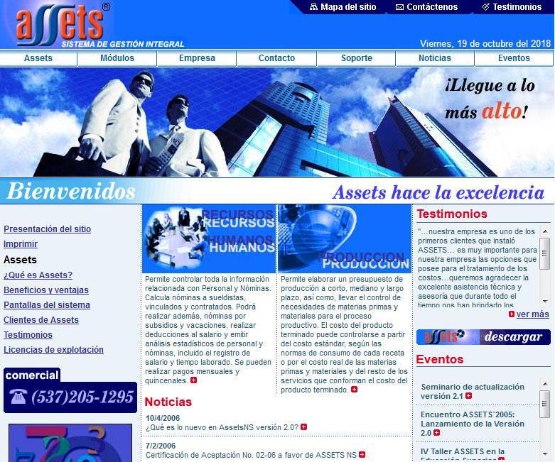Sitio ASSETS - Revista Tino