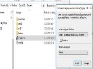 Instalación de Sysprep