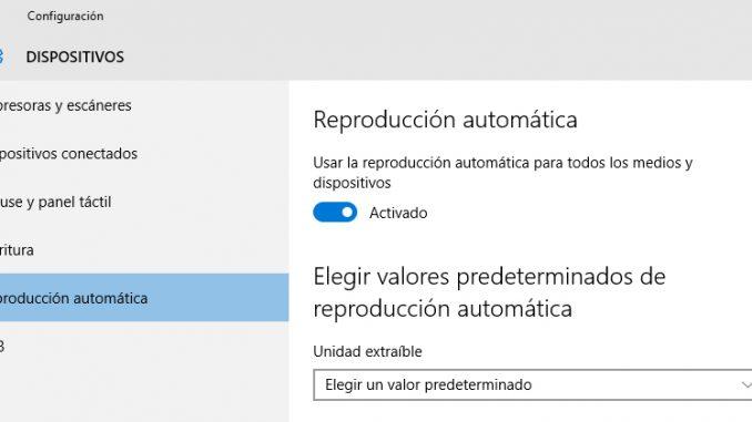 Reproducción automática