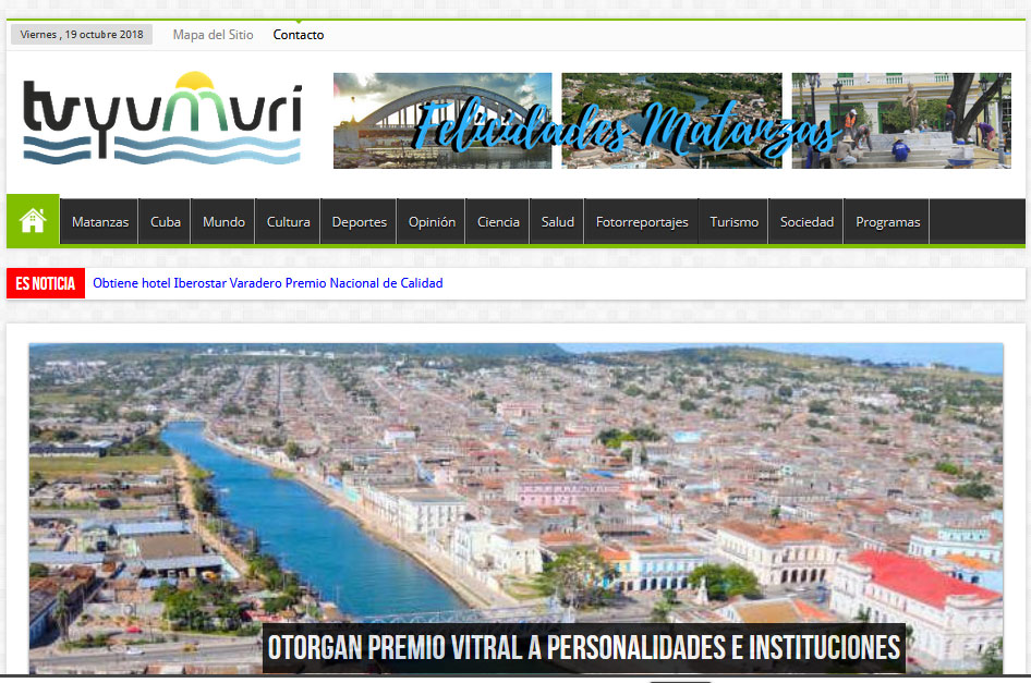 Sitios TV Yumurí WEB - Revista Tino