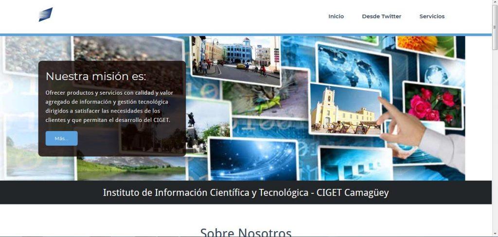 Sitio CIGET Camaguey - Revista Tino