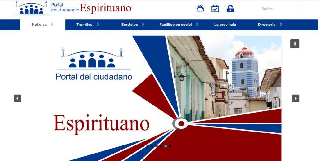 Sitio web Espirituanos - Revista Tino