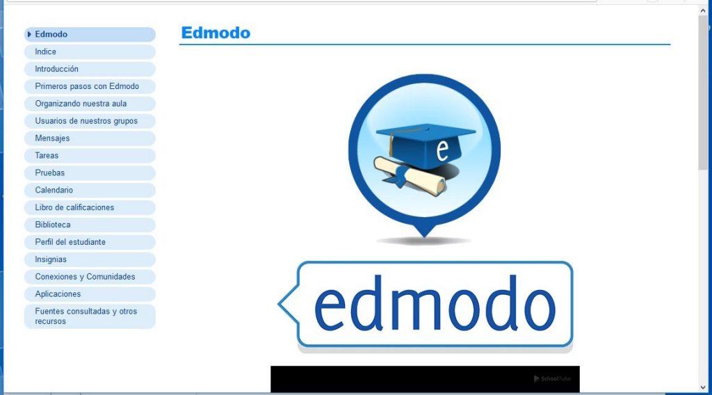 Figura 2. Pantalla principal de la plataforma Edmodo - Revista Tino
