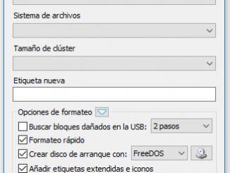 Crear USB booteable