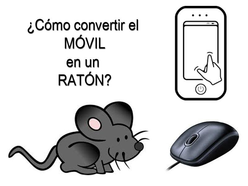 Convertir el móvil en un ratón - Revista Tino