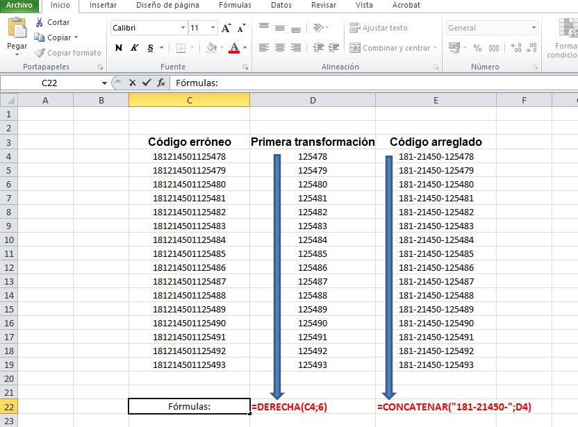 Modificar el código de los componentes de un almacén - Revista Tino