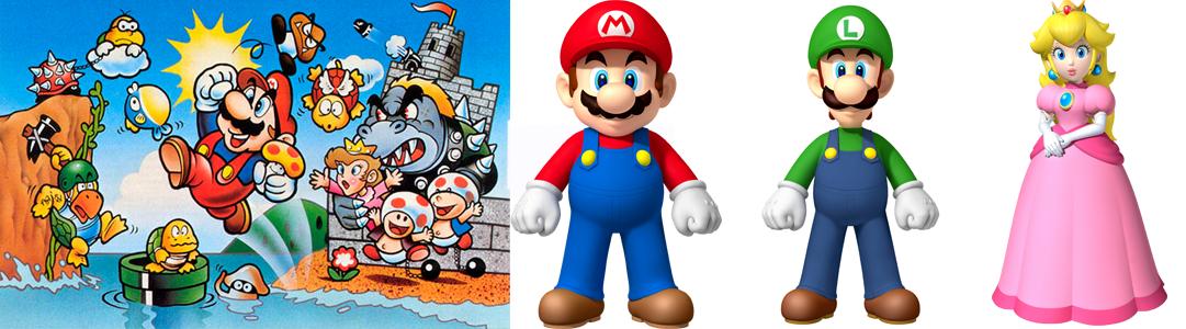 Super Mario Bros - Revista Tino