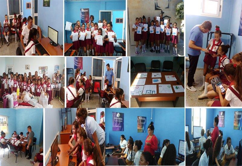 Las niñas en las TIC desde Artemisa - #RevistaTino