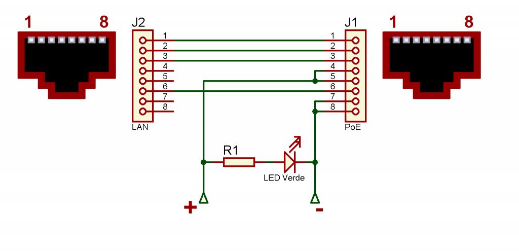 Figura. 8: Diagrama de conexión para confeccionar el PoE. - #RevistaTino
