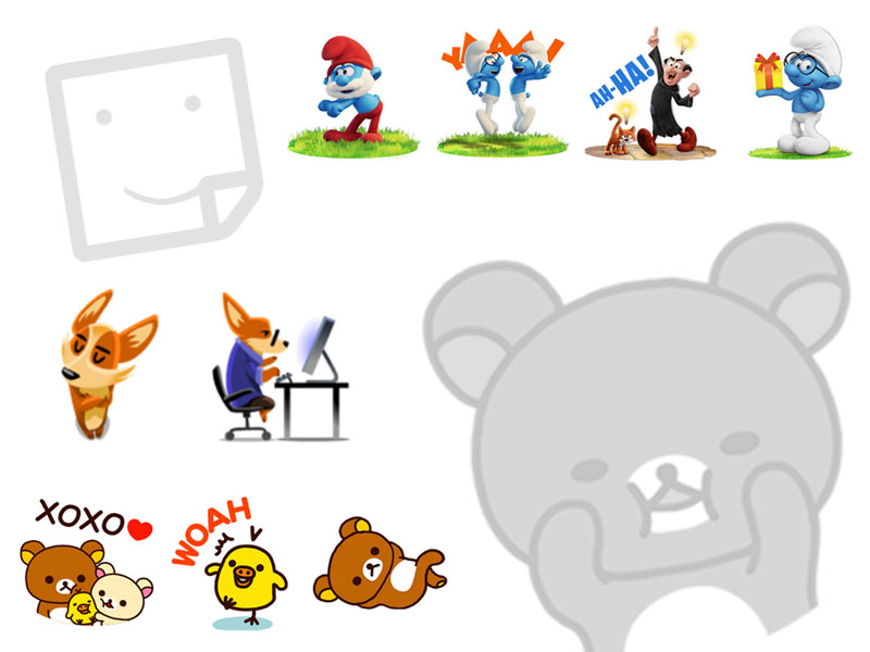 Figura 2. Stickers - #RevistaTino