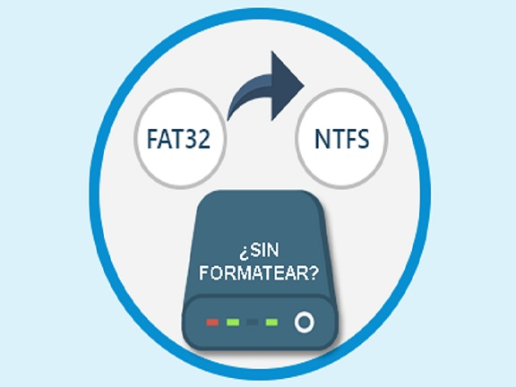 Cambiar de FAT32 a NTFS - #RevistaTino