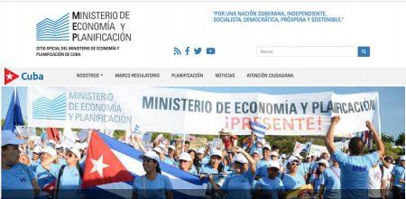 Sitio del Ministerio de Economía y Planificación - #RevistaTino