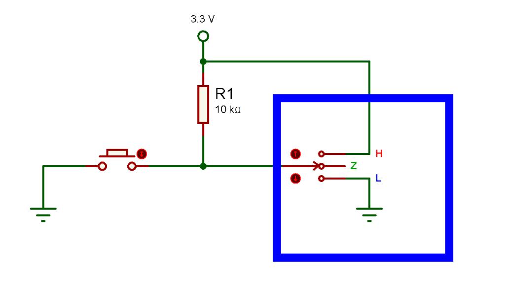 Fig. 2: Pin configurado como entrada. - #RevistaTino