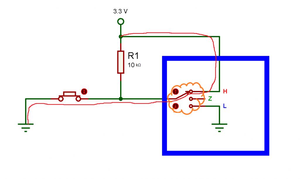Fig. 3: Pin configurado como salida. - #RevistaTino