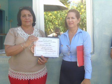 Fig. 1. Acreditación del Joven Club como Centro de producción docente - #RevistaTino
