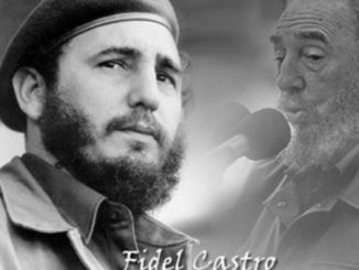 Foto de telesur. Fidel Castro Ruz- #RevistaTino