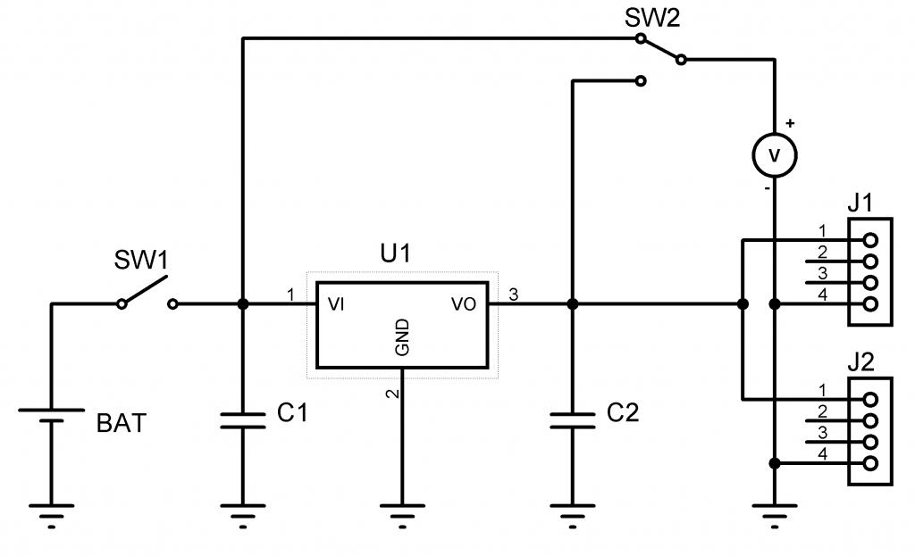 Fig. 1: Circuito electrico del cargador.