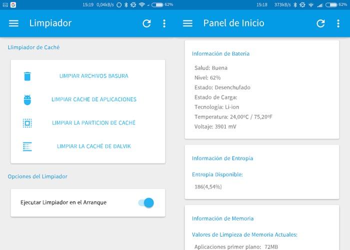 LSpeed Panel de inicio - #RevistaTino