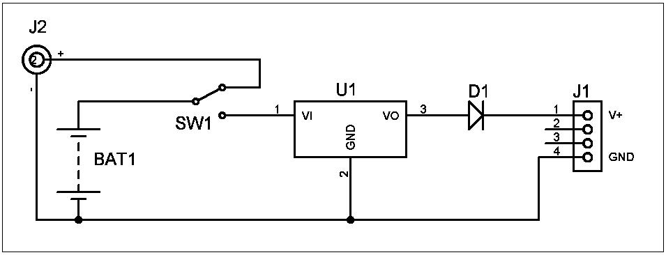 Fig. 1: Diagrama esquemático del cargador portátil -#RevistaTino