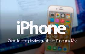 iTunes para hacer copia de seguridad - #RevistaTino