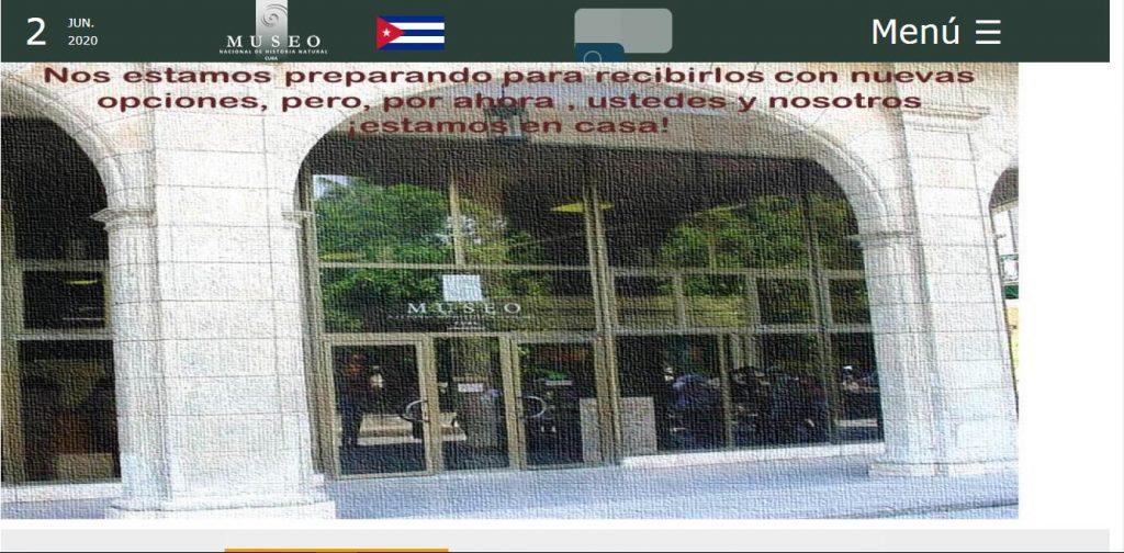 Museo Nacional de Historial Natural cubana - #RevistaTino