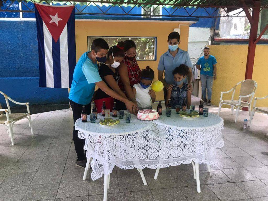 Fig. 5. Niños sin amparo filial disfrutaron en el Bosque tecnológico en Camagüey. - #RevistaTino
