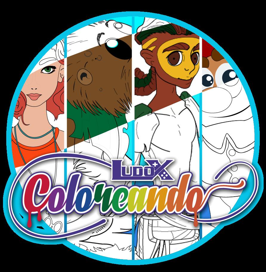 Fig. 3. Coloreando videojuego creado por LUDOX. - #RevistaTino