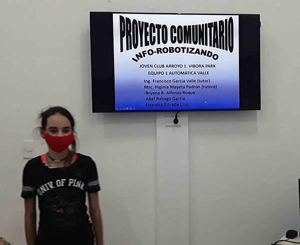 Lisandra Estrada Cruz (Proyecto Comunitario Info-Robotizando) - #RevistaTino